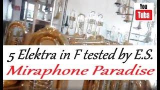 Eros Sabbatani Test Five Differents Miraphone Elektra In F
