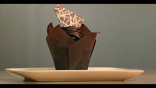 Ghirardelli Chocolate Truffle Cupcake