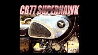 Honda CB77 Superhawk von 1965
