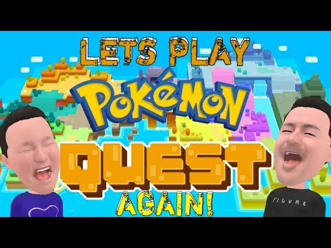 MORE POKEMON QUEST ADVENTURES! I'm Such A Noob! Let's Play Pt. 2!