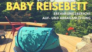 Baby Reisebett: Deryan Travel Cot // Ideal für Reisen mit Baby // Baby Reisebett Test // Aufbauen