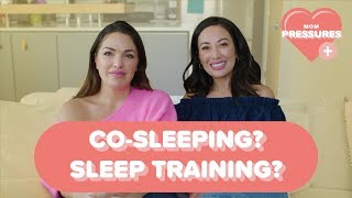 Baby Co-Sleeping? Sleep Training? We Discuss The Pressures We Face