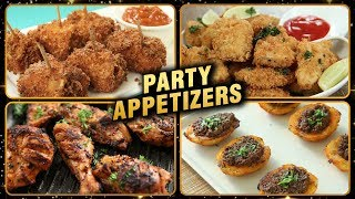 BEST Party Appetizers - Non-Veg Starter Recipes - New Year & Christmas Special Recipes