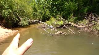 BEWARE...Buying property with a river or creek on it.