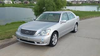 How to Reset the VSC on a Lexus Ls 430 with a Paper Clip  - hmong video