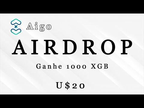 Ganhe U$20 Dólares no Airdrop Bot Aigopay . Muito fácil !