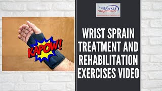 Hawkes Physiotherapy Wrist sprain video
