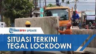 Situasi Terkini Penerapan Isolasi Wilayah di Kota Tegal, Arus Kendaraan dan Aktivitas Warga Lengang