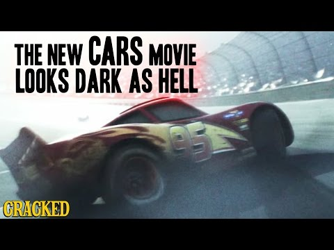 The New Cars Movie Looks Dark As Hell