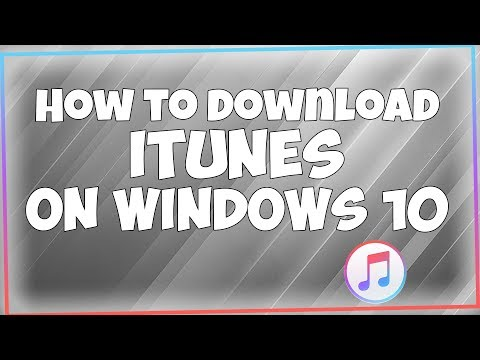 How to Download iTunes on PC [Windows 10]