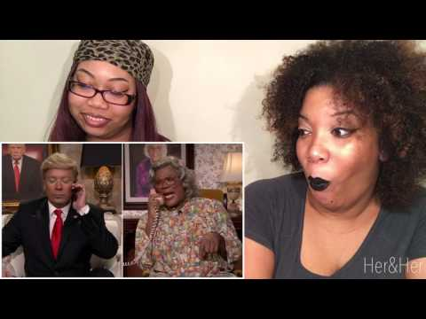 MADEA GETS A CALL FROM DONALD TRUMP REACTION!!