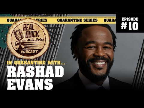 In Quarantine with… EP #10 – Rashad Evans – Real Quick with Mike Swick Podcast