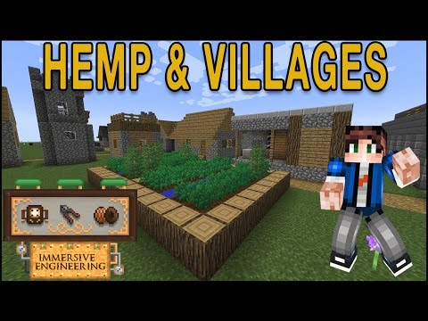 Getting Started - Immersive Engineering 1.12: Hemp and Villages