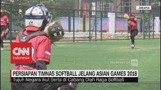 Gambar cover Persiapan Timnas Softball Jelang Asian Games 2018