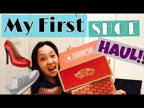 Converse & Vans! Cheapest Shoe Haul Ever! Singapore