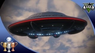 GTA 5 -  Flying UFO Easter Egg Over Mt. Chiliad -  Illuminati Alien UFO Mystery (GTA V) [100%] #GTA5