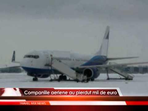 Companiile aeriene au pierdut mii de euro