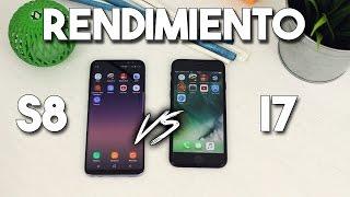 iPhone 7 vs Galaxy S8 | COMPARATIVA DE VELOCIDAD