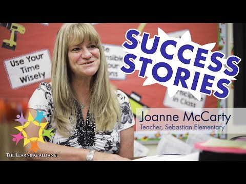 Success Story:  Joanne McCarty