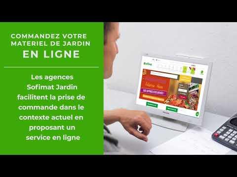 Commande en ligne sofimat jardin CLICK & COLLECT / LIVRAISON À DOMICILE