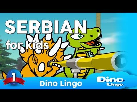 Learn Serbian for kids - Animals - Online Serbian lessons for kids - Dinolingo
