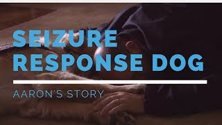 Seizure Response Dog Highlight: Aaron's Story