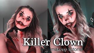 Killer Clown Makeup Tutorial