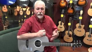 Northwest Guitars: Rainsong Parlor P12 acoustic/electric guitar