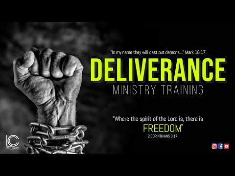 3/29/17: Deliverance Ministry Training (Week 1) / Topic: Intro To Spiritual Warfare