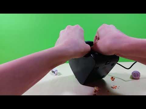 Unboxing – elektrischer Anspitzer