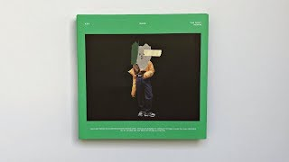 Gambar cover A Midnight Unboxing of Key 키 1st Album FACE 페이스 (Green Ver.)