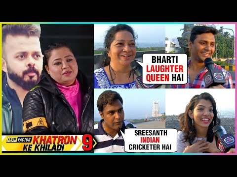 Public REACTION On Bharti Singh VS Sreesanth | Kha