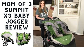 Baby Jogger Double Stroller Summit X3 Review || Stroller for multiple kids and why we love it!