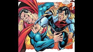 Superboy Prime vs Superman and the Legion of Superheroes