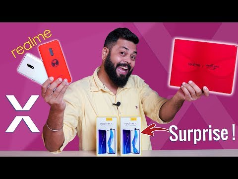 Realme X Indian Unit Unboxing & First Impressions + 2X Giveaway!