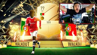OMG WE FINALLY PACKED HIM!! 2 WALKOUTS IN 1 PACK!! FIFA 22