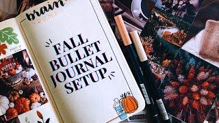 2020 FALL BULLET JOURNAL SETUP - Very Chill