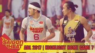 #Highlight ABL 2017 || Home Game 7: Saigon Heat vs CLS Knights 03/03