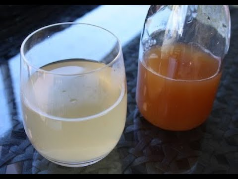 Healthy TUMERIC-APPLE CIDER VINEGAR Morning Drink