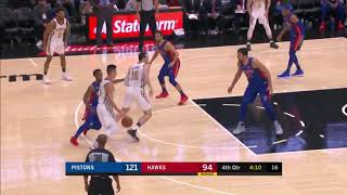 Jeremy Lin Highlights - Atlanta Hawks vs Detroit Pistons 11/9/18