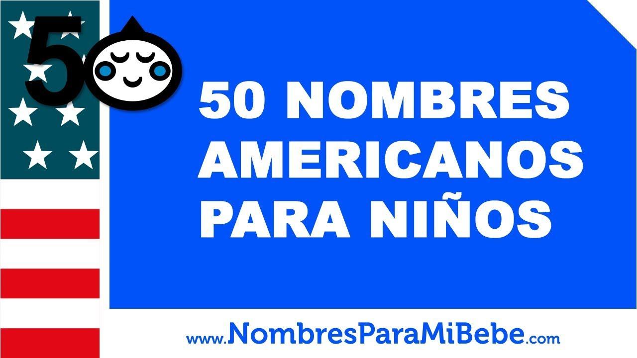 50 nombres americanos para niños - los mejores nombres de bebé - www.nombresparamibebe.com