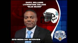 LC 2015 CIAA Football Media Day Interview