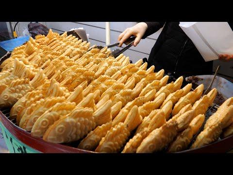 $ 0.13 Korean Popular Winter Snack Fish-shaped Bread   Korean Street food