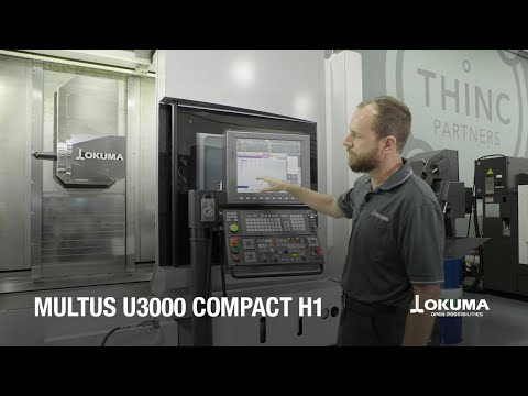 Okuma MULTUS U3000 with Compact H1