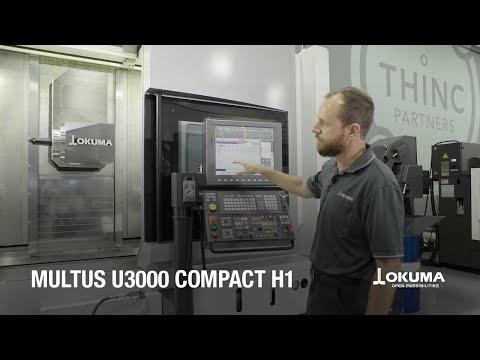 Okuma MULTUS U3000 with Compact H1