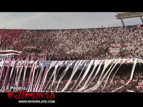 """""""Ahi viene la hinchada - Superclásico Apertura 2009"""" Barra: Los Borrachos del Tablón • Club: River Plate • País: Argentina"""