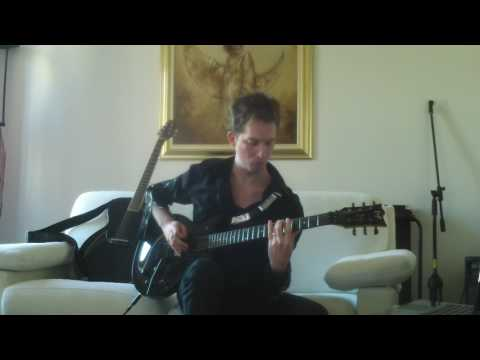 ESP Eclipse JR DC FR: John Rox plays Personal Jesus by Depeche Mode