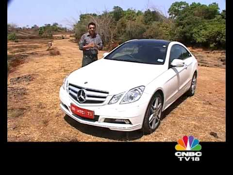 New Mercedes E Class Coupe on OVERDRIVE