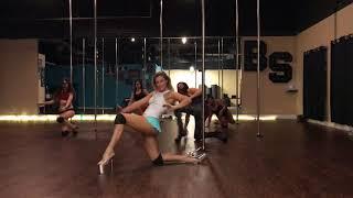 Sugarcane - PrettyDeep Beginner Pole and Floor Dance Routine 11-21-17