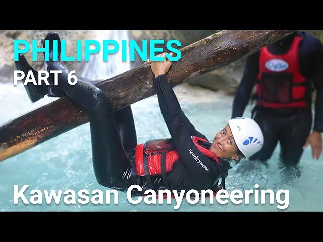 Kawasan Canyoneering - Philippines, Cebu - Part 6